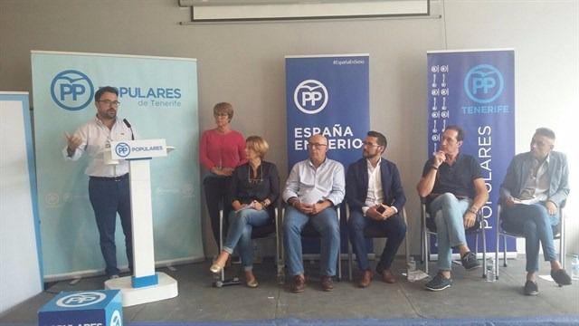 Antona reclama a CC y PSOE que dejen el