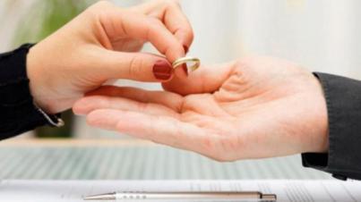 Las demandas de disolución matrimonial bajan un 3,3 por ciento