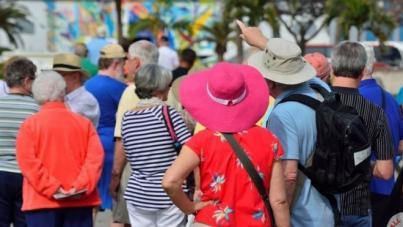 Máxima facturación pese a la caída de turistas