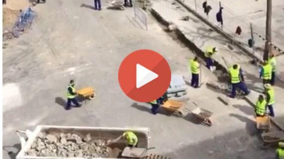 """Vídeo viral. Trabajando a lo Luis Fonsi: """"despacito"""""""