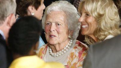 Muere la ex primera dama de Estados Unidos Barbara Bush a los 92 años