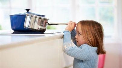 Más de la mitad de los accidentes infantiles se producen en casa