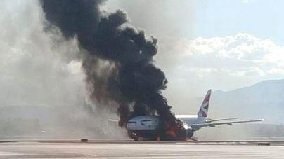 Cae un avión de Cubana de Aviación en el aeropuerto de La Habana