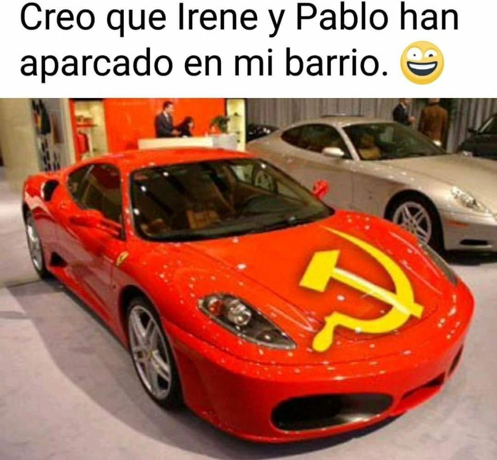 Vecinos aseguran que Pablo Iglesias se pasea en un Ferrari por Galapagar
