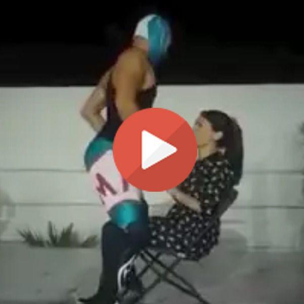 La patada voladora de un enmascarado arruina una despedida de soltera