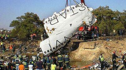 Este lunes se cumple el décimo aniversario del accidente de Spanair en Barajas