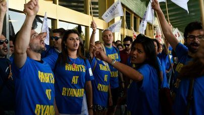 Los sindicatos de Ryanair planifican nuevas movilizaciones