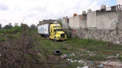 Despedido el responsable del camión abandonado con 147 cadáveres