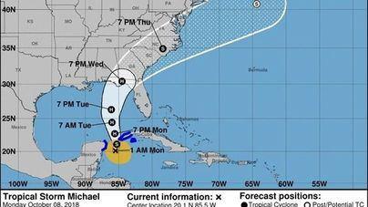 Florida ordena evacuar partes del estado ante la llegada del huracán 'Michael'