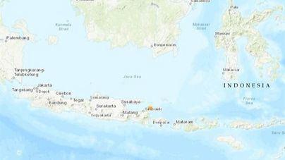 Un terremoto deja al menos tres muertos en la isla indonesia de Java