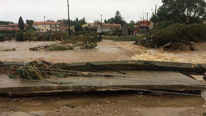 13 muertos por inundaciones cerca de Carcassone por Leslie