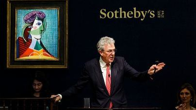 Sotheby's vende arte contemporáneo por 1.600 millones de dólares