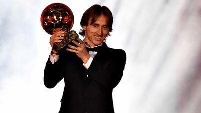 Luka Modric gana el Balón de Oro 2018