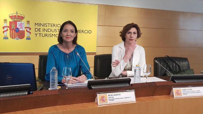 La ministra Maroto convoca el lunes al Consejo Español de Turismo tras cuatro años sin reunirse