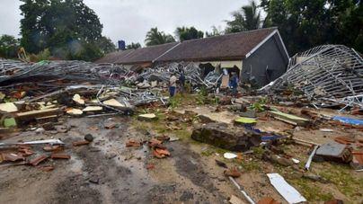 Impactantes imágenes del Tsunami de Sonda y sus consecuencias en Indonesia