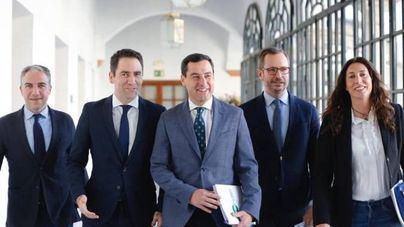 PP y Cs cierran un acuerdo con 23 medidas de regeneración democrática en Andalucía
