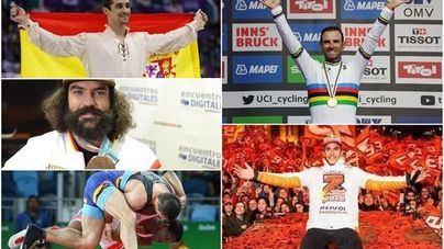 Los protagonistas del deporte masculino español en el 2018