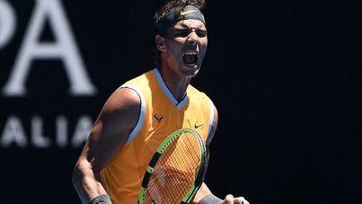 Nadal gana a Duckworth y se cuela en segunda ronda del Australian Open