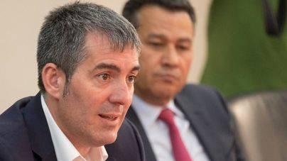 Clavijo anuncia una ley de crédito extraordinario con los recursos adicionales del REF