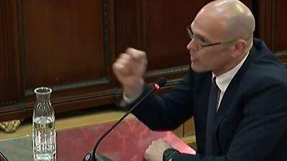 Romeva también se declara 'un preso político'