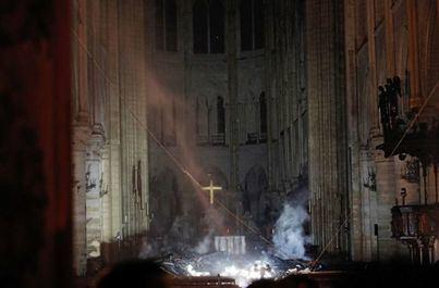 Controlado el incendio que ha devastado Notre Dame