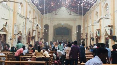 Más de 200 muertos y 450 heridos tras una cadena de explosiones en iglesias y hoteles de Sri Lanka