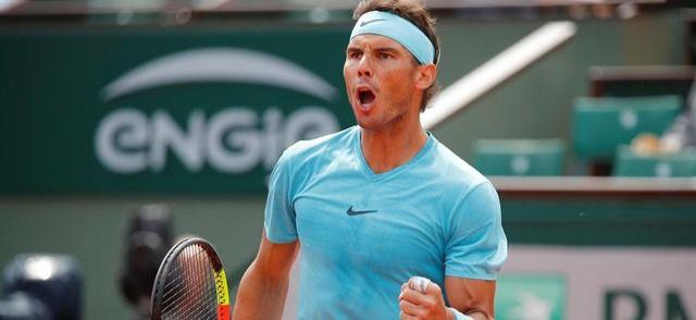 Rafa Nadal alcanza los cuartos en Roma tras ganar a Chardy y a Nikoloz Basilashvili