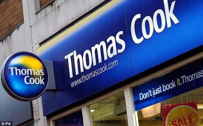 Las acciones de Thomas Cook pierden el 16 por ciento y siguen a la baja