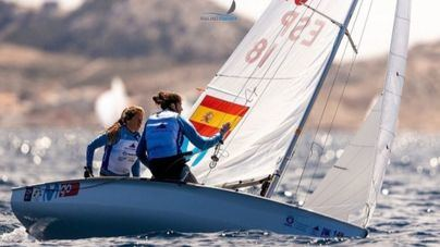 Patricia Cantero y Silvia Mas, terceras en la clase 470 en la Hempel World Cup Series 2019
