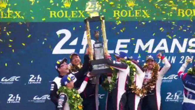 Alonso se hace con el Mundial de Resistencia tras vencer en las 24 horas de Le Mans
