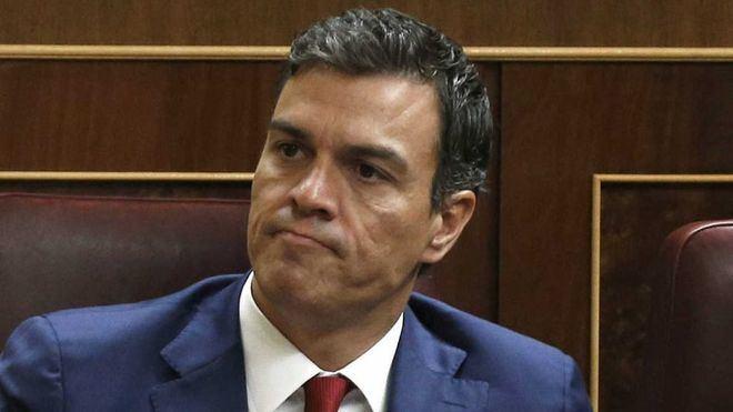 El Congreso rechaza el primer intento de investidura de Sánchez con la abstención de Podemos