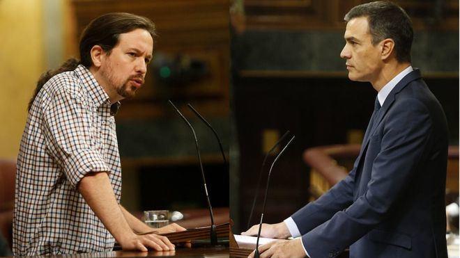 Unidas Podemos se abstiene y hunde la investidura de Pedro Sánchez