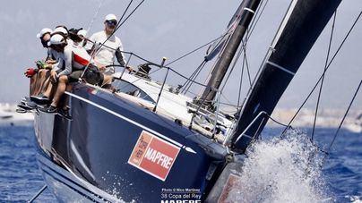 El 'Aifos 500' de Felipe VI acaba en quinto lugar en la Copa del Rey Mapfre de vela