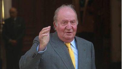 El Rey Juan Carlos: 'Me veréis a la salida'
