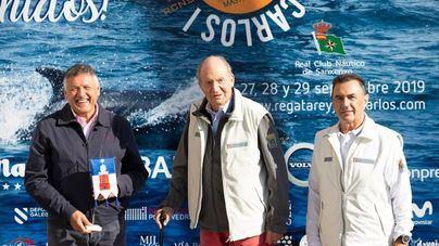 Don Juan Carlos reaparece después de su operación: 'Estoy bárbaro'