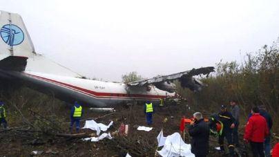 Cinco muertos en el aterrizaje forzoso en Ucrania de un avión procedente de España
