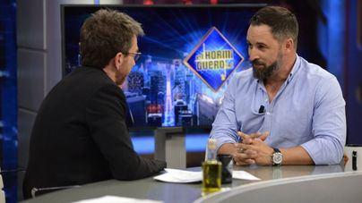 Abascal hace récord de audiencia en 'El hormiguero'