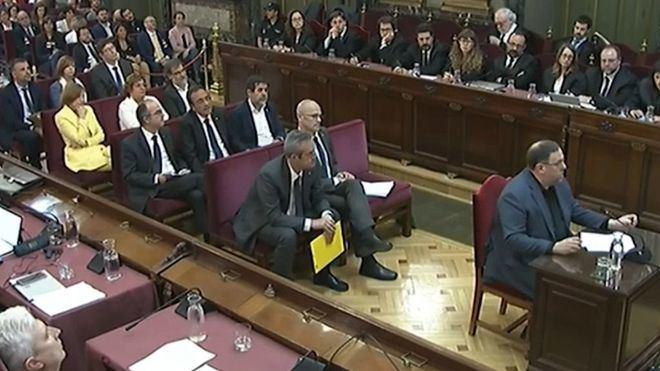 Filtran que los presos del 'procés' serán condenados por sedición y malversación