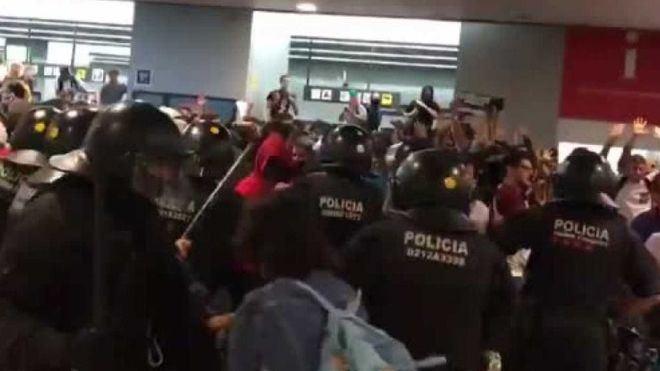 Las protestas en Cataluña por la sentencia del Procés dejan 131 heridos