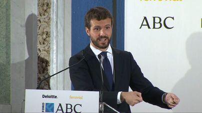 "Casado propone un ""plan España para Cataluña"""