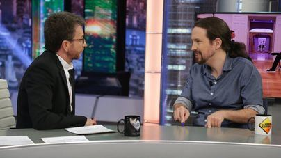 Pablo Iglesias, el candidato a presidente con peor audiencia en 'El hormiguero'