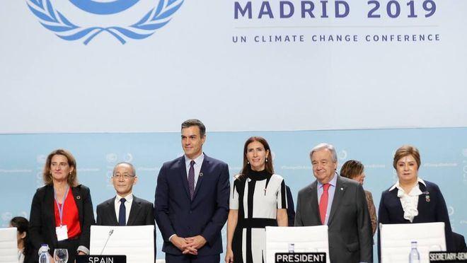 Sánchez habla de 'punto de inflexión' y apela a que Europa lidere la Cumbre del Clima