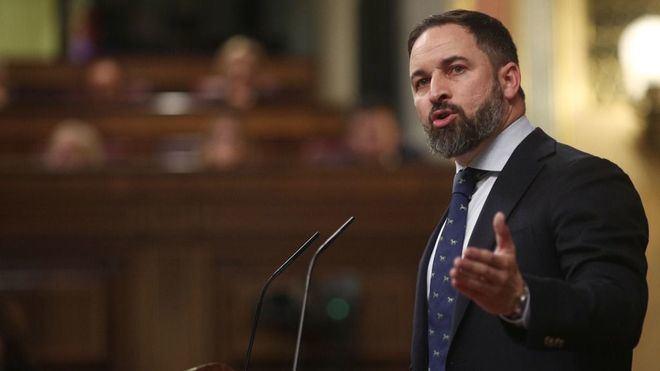 Abascal tilda a Sánchez de ser 'un fraude, un mentiroso y un estafador'