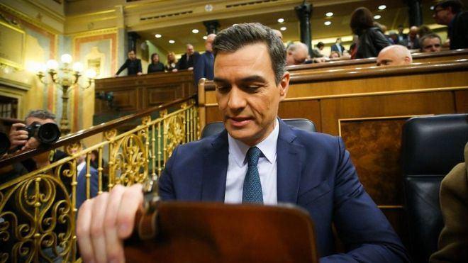Sánchez no logra los votos necesarios para ser presidente