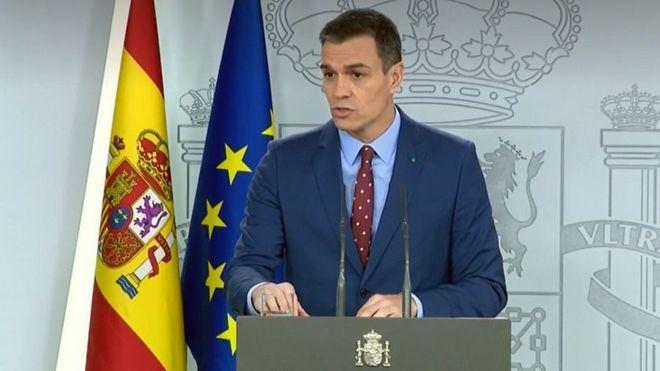 Sánchez sobre su Gobierno: 'Con varias voces pero la misma palabra. De diálogo y moderación'