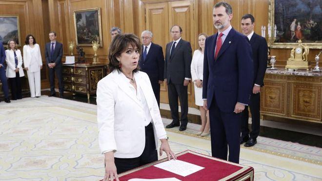 Dolores Delgado, elegida por Sánchez como nueva Fiscal General del Estado