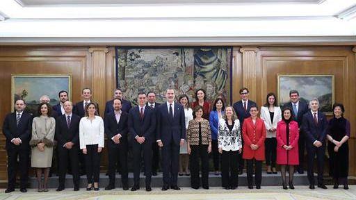 'Consejo de Ministros y Ministras': la única variación sobre el guión establecido