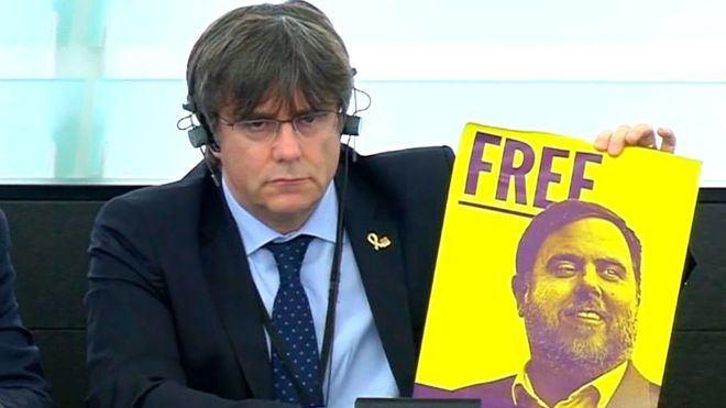 Puigdemont exige un mecanismo europeo para la autodeterminación