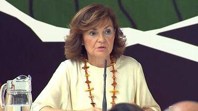 Carmen Calvo: 'El Congreso de los Diputados debe llamarse sólo Congreso'