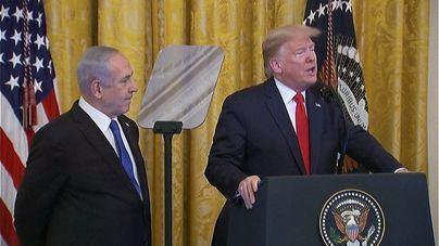 Trump presenta su 'plan de paz' para la convivencia pacífica entre Israel y los países árabes